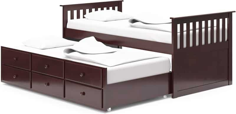 Broyhill Kids Marco Island Captain's Bed with Trundle Bed