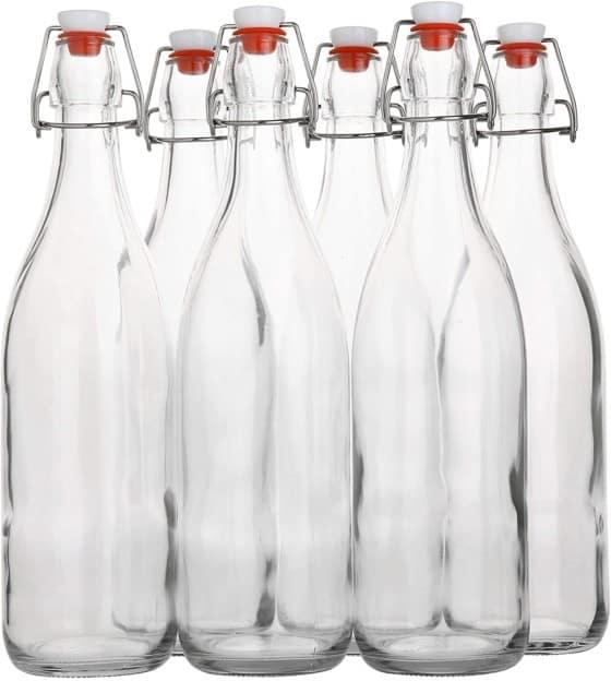 Flip Top, Glass Bottle