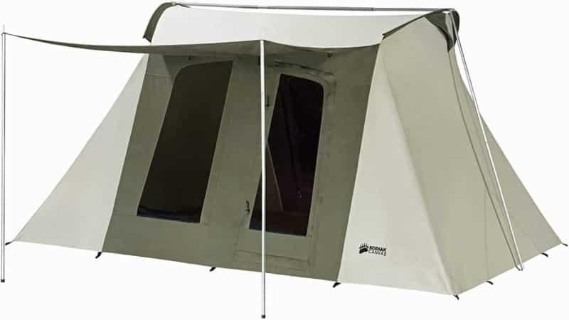 Kodiak Canvas Flex Bow Canvas Tent deluxe
