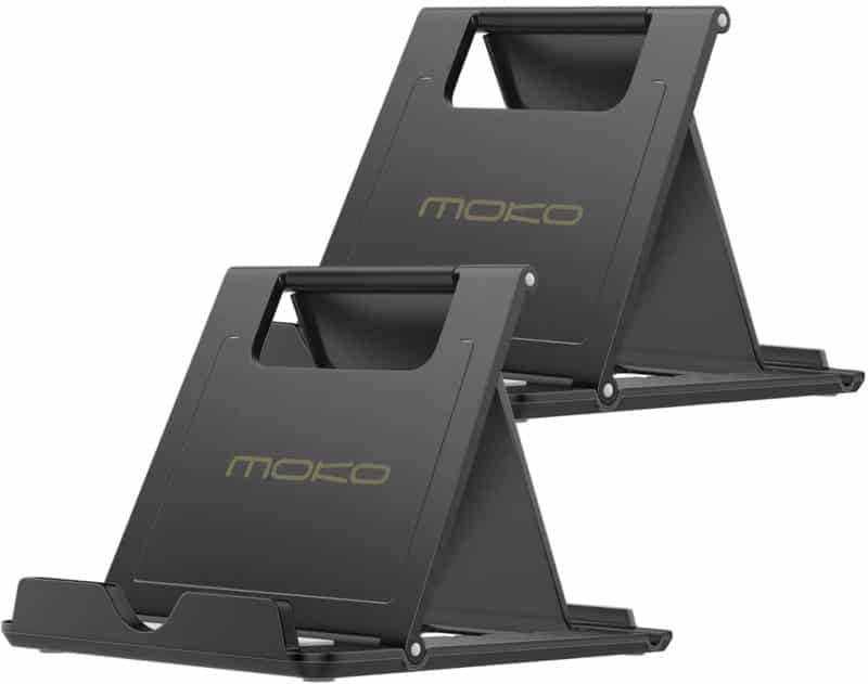 . MoKo Foldable 2 pack Cellphone/Tablet Stand