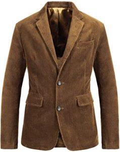 Corduroy Suit Blazer Jacket