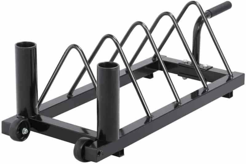 YAHEETECH Horizontal Weight Plate Rack