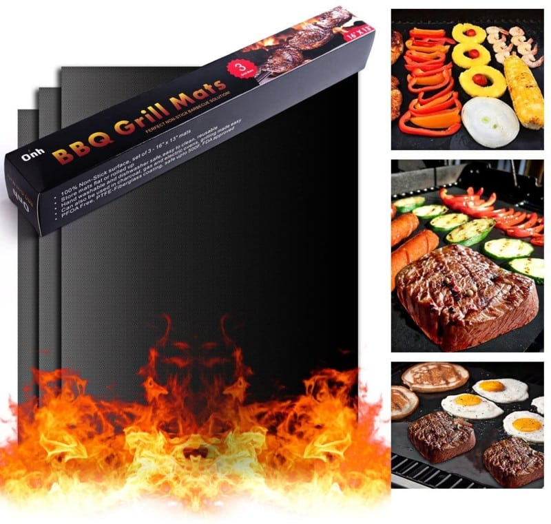 On'h's BBQ Grill Mats