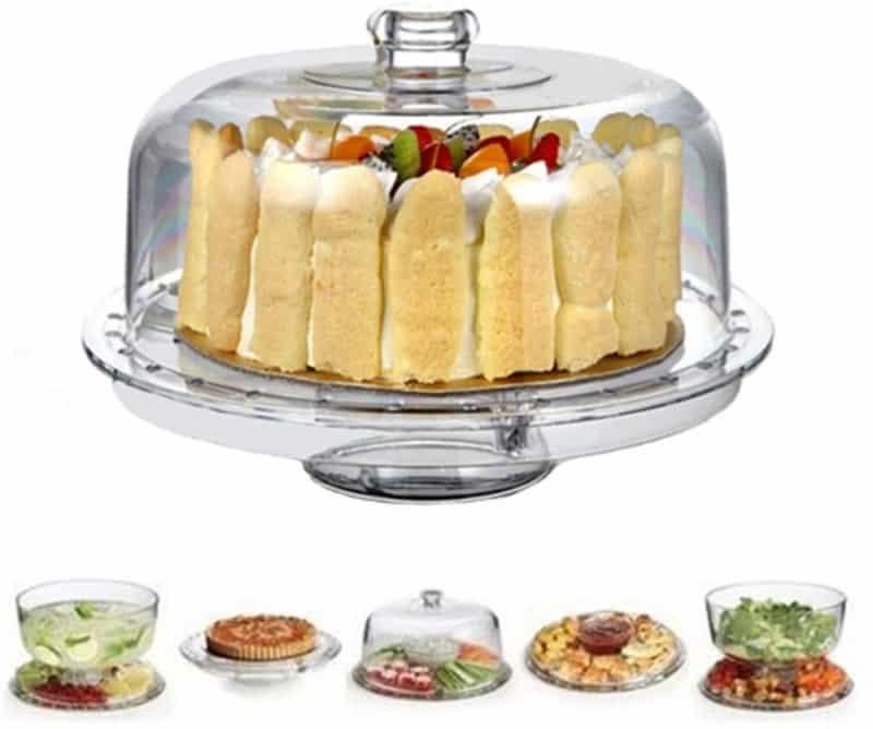 8. HBlife Cake Stand- Acrylic