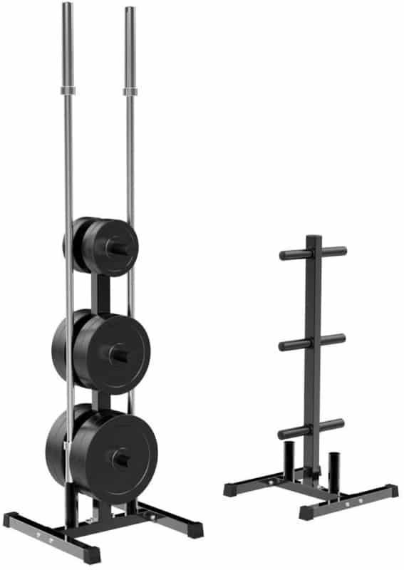 YAHEETECH Weight Plate Rack