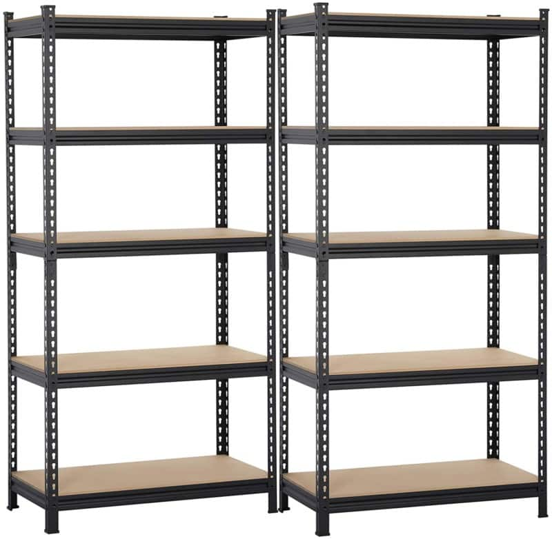Yaheetech 5 Shelf Heavy Duty Shelving Unit