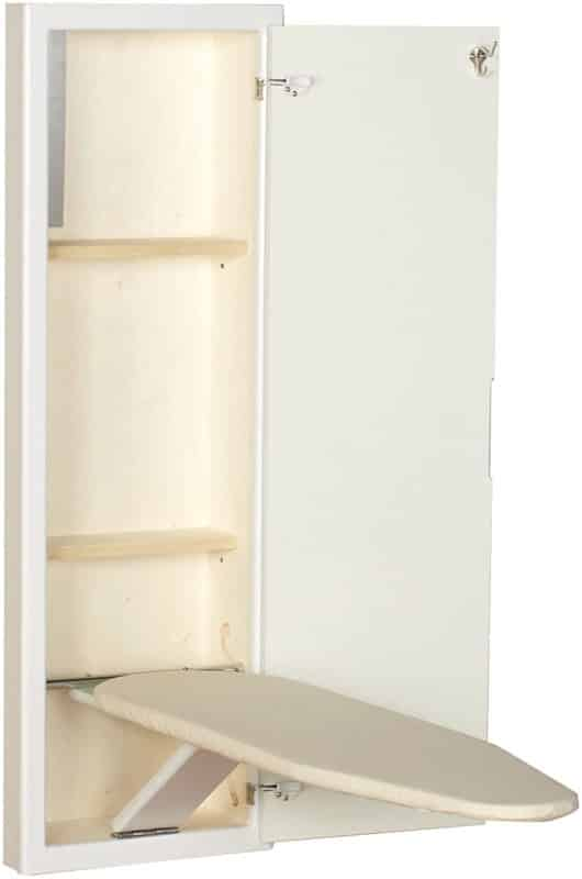 Household Essentials Built-in Ironing Board With Stowaway Cabinet