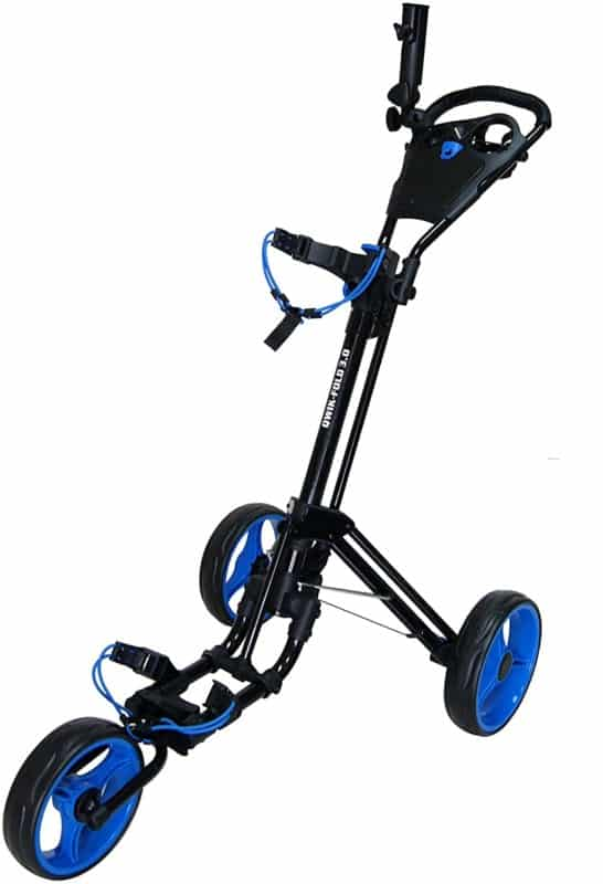 Qwik-Fold Golf Push Carts