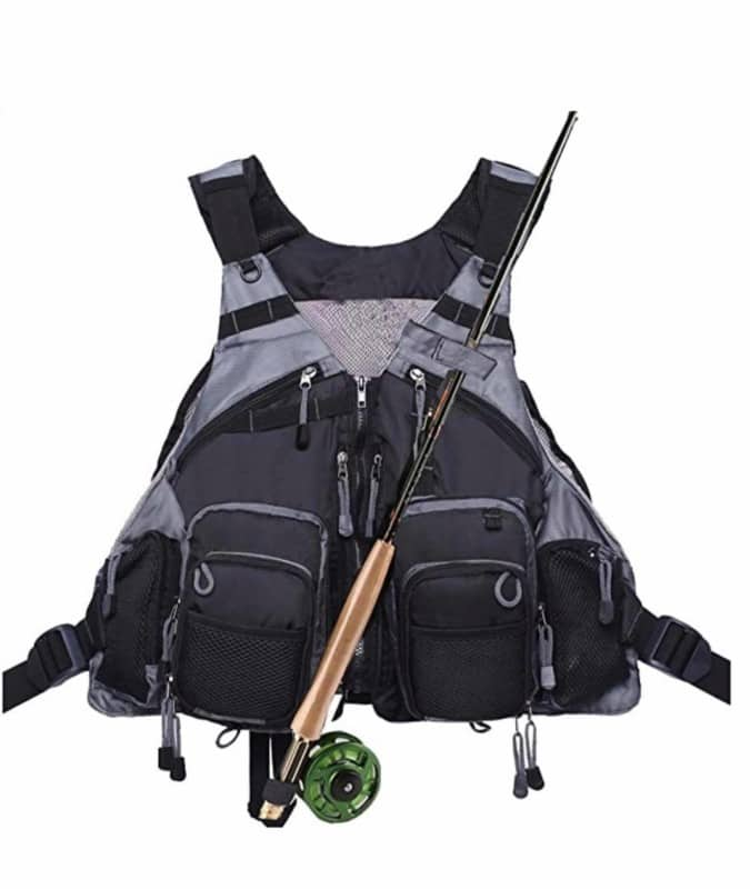 Fly Fishing Vest Pack Adjustable For Men And Women