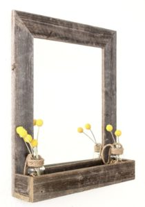 Wall Mirrors with Shelf