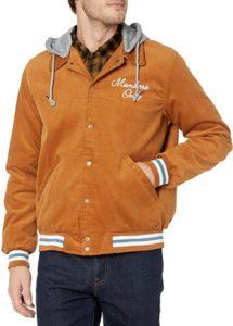 Corduroy Varsity Jacket