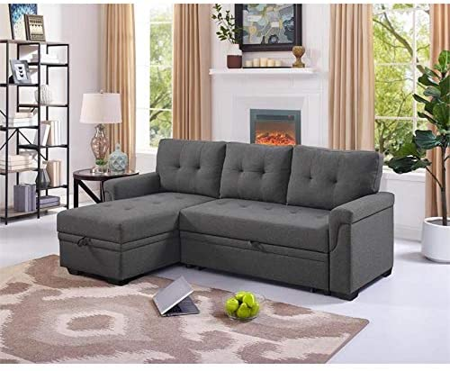 BOWERY HILL Sofa Bed with Storage