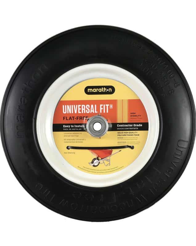 Flat-Free Wheelbarrow Tires - Marathon Industries