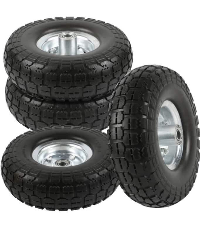 go2buy 4 Pieces Wheelbarrow Tire