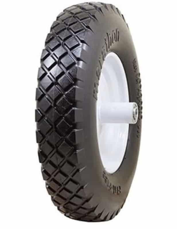 Marathon Industries Flat-Free Wheelbarrow Tires