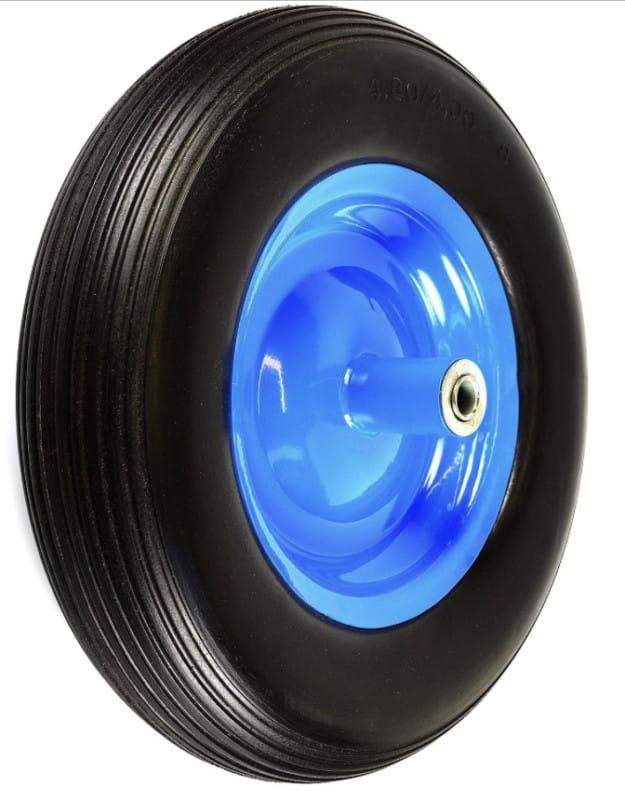 NK Flat-Free Wheelbarrow Tires with Ribbed Tread