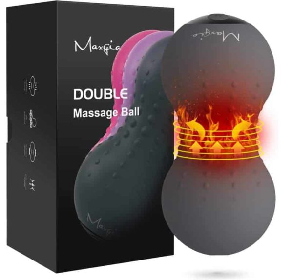 Maxgia Electric Heating Vibrating Massage Ball