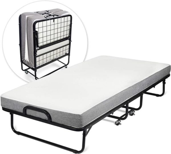 Milliard Folding Guest Bed with Mattress