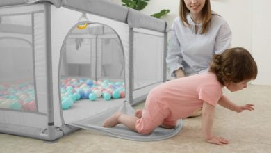 Portable Playpens for Kids