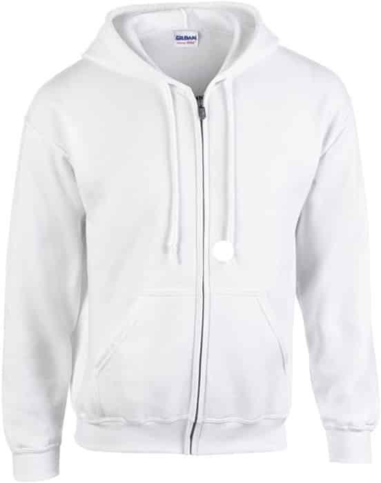 Gildan Men's Fleece Zip Hooded