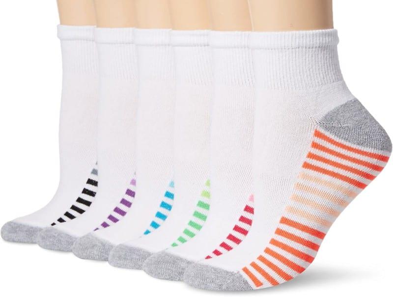 Hanes Non-Slippery Ankle Socks - Best Socks for Women