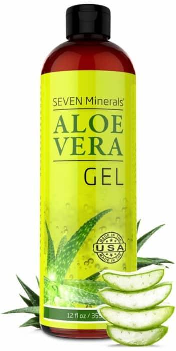 The Organic Gel of Aloe with 100% Pure Aloe