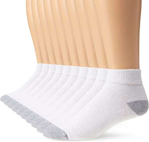 Ultra Soft Low-Cut Ankle Socks - Flexible and Nice Grip Skin