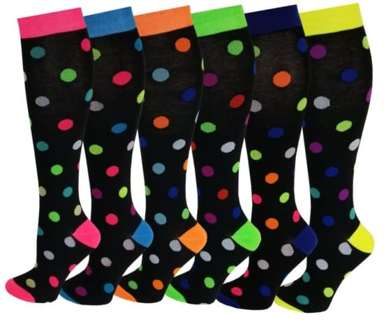 Many Fancy Colorful High Sock for Women