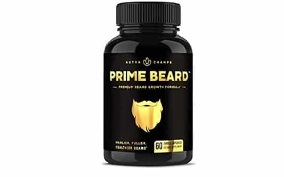 Superb Beard Growth Vitamins Supplement for Men- Leader in Facial Hair Growth