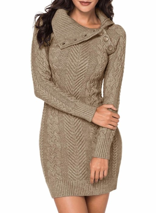 BLENCOT Sweater Dress