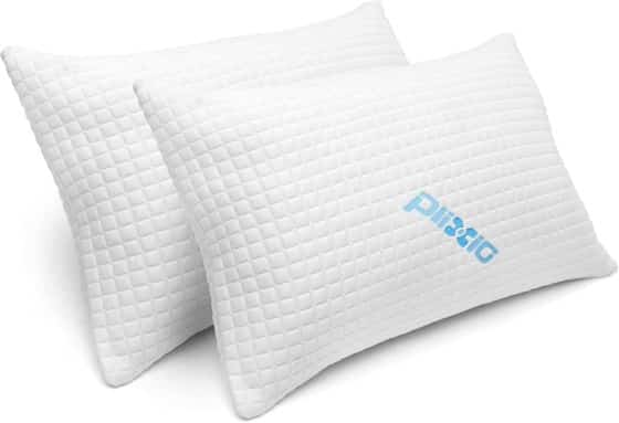 Bamboo Cooling Hypoallergenic Sleep Pillow