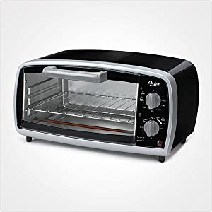 Black Oster 4-slices Toaster Oven