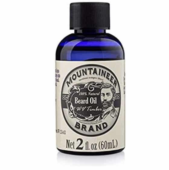 Mountaineer Brand, WV Timber, Cedarwood and Fir Needles Scent Beard Oil