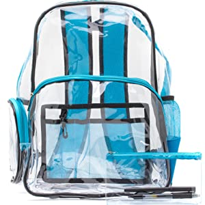 Saucey Chic Clear Backpack