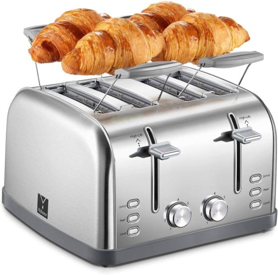 4-Slice Review's Yabano Toaster