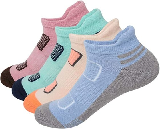 AIRSTROLL Coolmax Athletic Socks - Comfortable Short Socks