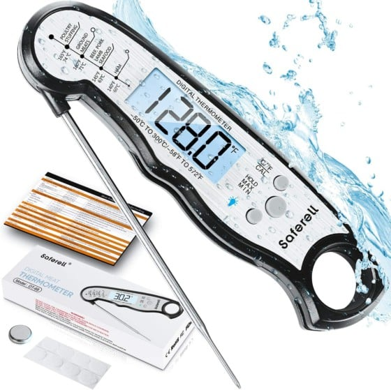 Saferell Instant Read Meat Thermometer