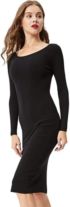 GLOSTORY Sweater Dress
