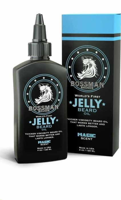 Bossman Beard Oil (4oz) – Beard Softener, Thicker Growth – Magic Scent
