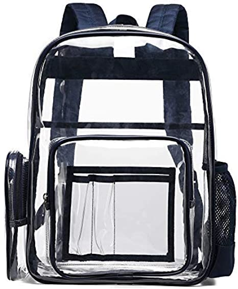 BuyAgain Large Clear Backpack