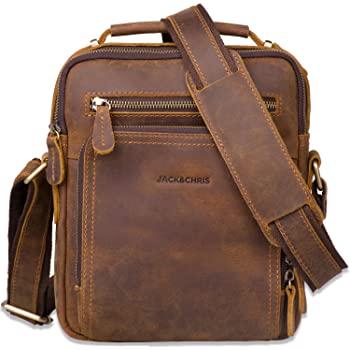 Retro-Style 10.2 inches Jack&Chris Messenger Bag