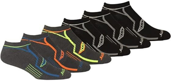 Saucony High Polyester-Made Low-Cut Ankle Socks