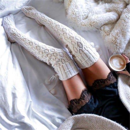 The Extra Long of Women High Socks