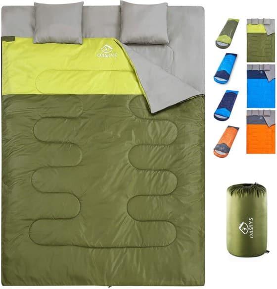 OASYS Camping Sleeping Bag