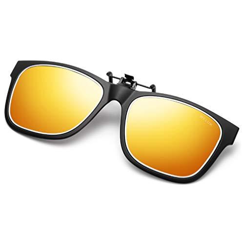 WELUK Polarized Clip-on Sunglasses