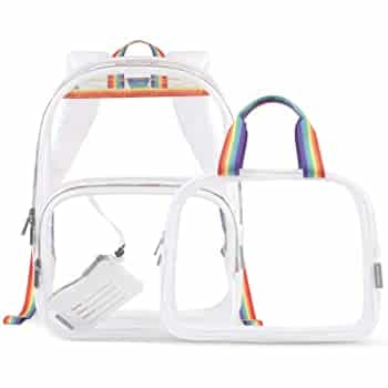 Mommore Clear Backpack