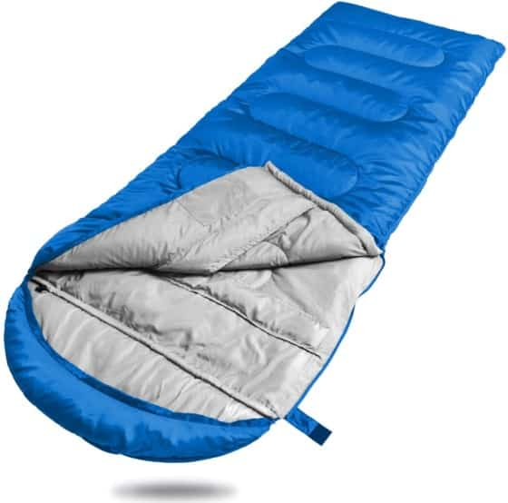 Winner Camping Sleeping Bag with Compression Sack