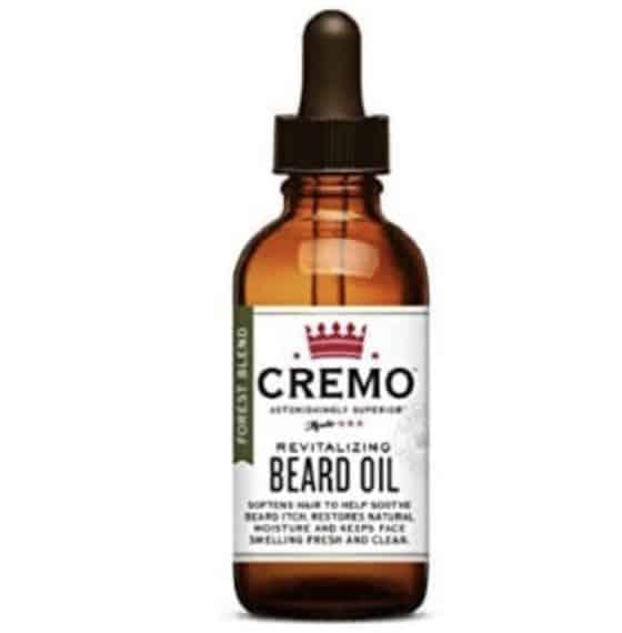 Cremo Forest Blend Revitalizing Beard Oil for All Beard Lengths