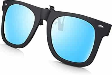 TOREGE Polarized Clip-on Sunglasses
