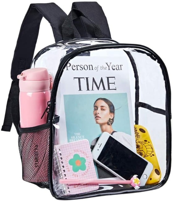 Stadium Approved Mini Clear Backpack